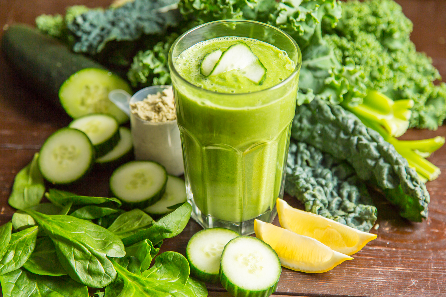 Cycling Nutrition: Green Summer Smoothie